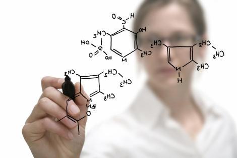 Chemistry-woman